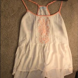 Maurices summer blouse size L